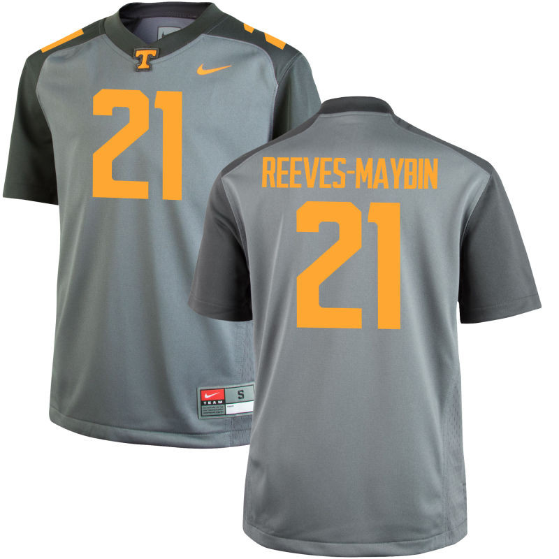 Youth Nike Tennessee Volunteers #21 Jalen Reeves Maybin Limited Gray Football Jersey